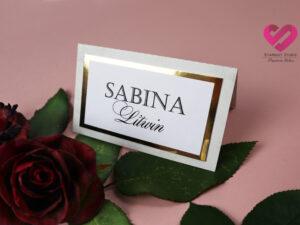 Dodatki na ślub i wesele glamour marmur