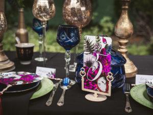 Numery na stół weselny Alicja w Krainie Czarów Numer stołów drewniany numery stołów kwiatowe