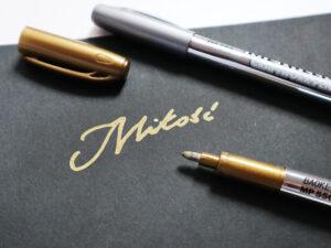 długopis metaliczny do księgi gości