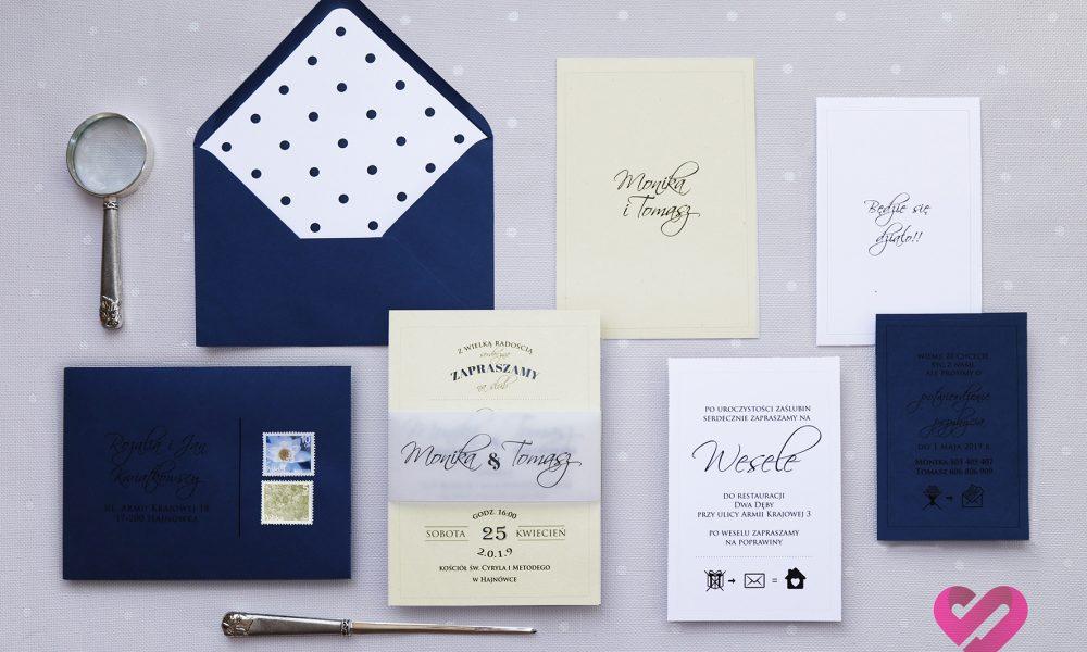 Pin-up zaproszenia ślubne
